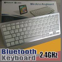 Wholesale E NEW Newest Ultra slim Wireless Bluetooth Keyboard For Android for MAC iPad IOS Apple Windows for OS System