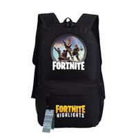 Wholesale game saves for sale - Game Fortnite Save The World Backpack School Students bag Zipper Satchel Laptop Bag Men Women Cosplay Gift