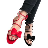 2efdd86b70 Por atacado mulheres sandálias coreanas on-line - Sumeer sandalia feminina  preto genuíno couro transparente