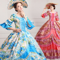 Wholesale adult gowns for sale - Group buy YF Deluxe Adult th Century Coronation Ball Gown Medieval Dress Historical Halloween Victorian Dress Gothic Party Costume sexy