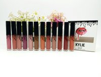 Wholesale Promotions Gifts - Special promotions! Kylie Lip Matte Lipstick by Kylie Jenner 12 color High-quality DHL Free shipping+GIFT