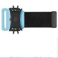 pulseiras de pulso venda por atacado-VUP Ao Ar Livre Universal Sports Pulseira Pulseiras Móveis Extensíveis Bodybuilding Run Equitação Montanhista Apple Revolving Arm Bag Set 30 wd ii