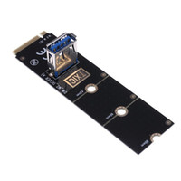 Wholesale NGFF M to USB3 Converter Adapter Graphic card Extender Card M NGFF to PCI E X16 Slot Transfer Card Mining