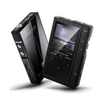кожаные футляры для музыки оптовых-Оригинальный Лунный свет AIGO Z6Pro Hifi музыкальный плеер жесткий DSD MP3-плеер ES9018Q2C ЦАП двухъядерный процессор+кожаный чехол NXPLPC4357 Max128GB