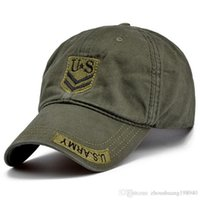 qualitätsarmeehüte großhandel-Hochwertige US Army Cap Camo Herren Baseball Cap Marke Tactical Cap Herren Hüte und Mützen Gorra Militar für Erwachsene