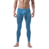 Wholesale thermal clothing for men - Sexy Mens Thermal Pants Men Thermo Underwear Bottom Thin Style Man Leggings Mens Warm Pants for Winter Clothes Good Quality