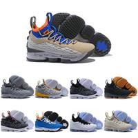 best sneakers 037cb 5b6f9 PRIDE OF OHIO james Lebron 15 Basketball Schuhe 15s XV Hartholz Mowabb New  Heights Waffel Trainer Wein rot Ghost Designer Mens Sport Turnschuhe Größe 7 -13