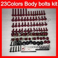 Wholesale Abs Fairing Kit Aprilia - Fairing bolts full screw kit For Aprilia RSV1000R 99 00 01 02 RSV1000 R RSV 1000 1999 2000 2001 2002 Body Nuts screws nut bolt kit 23Colors