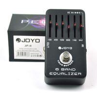joyo overdrive venda por atacado-JOYO JF-11 6 Band EQ Equalizador Gráfico Guitar Effect Pedal