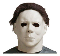 Wholesale latex film - Michael Myers Style Halloween Horror Mask Latex Fancy Party Horror Movie free shipping