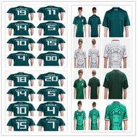 Wholesale mens discount white shirts - Mens soccer Jersey 2018 world cup Mexico home R.JIMENEZ R.MARQUE CARLOS V G.DOS SANTOS custom football shirt discount