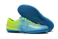 Wholesale Cheap Soccer Cleats Free Shipping - 2018 Cheap Predator Mania Champagne FG Soccer Shoes Mercurial Superfly Football Boots Lows Men Soccer Cleats Turf Futsal Free Shipping