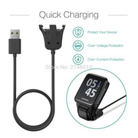 Wholesale usb charger dock cradle resale online - Smart Watch Data Sync USB Cable Charging Charger Cradle Dock Station For TomTom Runner Spark Golfer ft