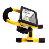 dökme ışık toptan satış-20 W Taşınabilir Işık Cast 360 Derece Rotasyon Kare Şantiye Acil Lamba LED Açık Sinyal Işıldak 35rh X