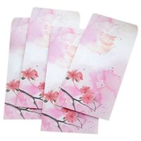 Wholesale Peach Paper - 10 pcs of (10 Pieces   Party Vintage Chinese Style Vintage Craft Paper Envelope 272Ink Peach)