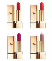 Wholesale g love - New Luxury Brand KISS & LOVE EDITION Lipstick Matte Makeup lipstick Moisturizing 1 13 19 70 Four colors 3.8 g free shopping