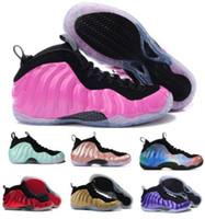 Wholesale mediums phoenix - 2018 Penny Hardaway Basketball Shoes Sneaker Mens Man Blue 1 One Pro Mike Rust Island Copper Tech Fleece Concord Phoenix Zapatos Foam Shoe