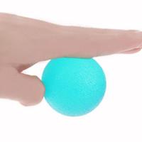 оранжевые шарики усилия оптовых-Ручные Захваты Укрепитель Палец Сцепление Мяч Терапия Упражнение Squeeze Яйца Стресс Шары Фитнес-Оборудование Синий Желтый Оранжевый