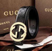 Wholesale Gift Boxes For Belts - 2018 High quality designer belts men Jeans belts Cummerbund belts For men Women Metal Buckle with the box