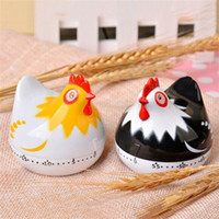 Wholesale multi alarms for sale - Group buy Kitchen Mechanical Alarm Clock Cartoon Hens Shape Timer Minutes Countdown Cooking Tool yy C R