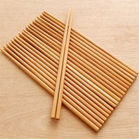 Wholesale chopstick bamboo - 10pairs Mildew Proof Bamboo Long Chopsticks Household Portable Non Slip Tableware Suit Heat Resisting High Grade 1 7bs Ww