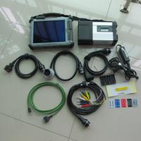 automotive engine analyzer software großhandel-für mb star automotive diagnose für mb star sd compact c5 für mercedes tools ssd mit laptop xplore ix104 tablet i7 4g