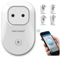 Wholesale Android Remote Control Switch - Orvibo S20 EU AU UK US WiFi Smart Switch Intelligent Power Socket For IOS Android Smartphone Remote Control Wireless Smart Socket