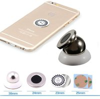 магнитный сотовый телефон оптовых-360 автомобильный держатель Mini Air Vent крепление Магнит магнитный сотовый телефон мобильный держатель универсальный для iPhone 7 6 5 GPS кронштейн подставка поддержка