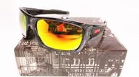 turbina al por mayor-Envío gratuito de alta calidad gafas de sol O Turbina Lente de espejo Conducción Equitación Gafas deportivas 2019 Nuevo anti-UV 100%