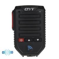 Wholesale speakers series - Baofeng BT-89 Handheld Wireless Bluetooth Microphone Speaker for QYT KT series Mobile Radio 10 Meters Receive Range Microphone