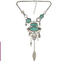 бриллиантовое жемчужное ожерелье оптовых-дизайнер ювелирных изделий драгоценный камень ожерелье для женщин классический длинные кисточкой ожерелье Оптовая горячая мода бесплатная доставка