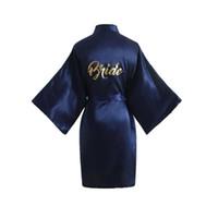 damen nachtwäsche kleider großhandel-Sexy Lady Geisha Kosmetik Wear Satin Kimono Nachtwäsche Nachthemd Brief: