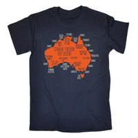 Wholesale australian shirt for sale - Australia Explained T SHIRT Down Under Australian Aussie Ozzie Gift Birthday Funny Unisex Casual tee gift