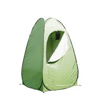 Wholesale camp shower tents - 2018 Portable Outdoor Shower Bath Tent Changing Dressing Fitting Room Tent Shelter Camping Beach Privacy Space Toilet Tents