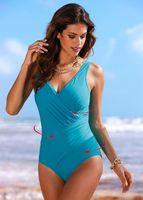 tek parça banyo uygun arkalıksız toptan satış-Bather Seksi Kadınlar için 1 Parça One Piece Mayo Backless Swim Suit Mayo Kadın Mayo Yüzmek Beachwear Monokini