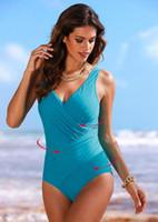 Wholesale one piece bathers - Bather Sexy 1 One Piece Swimsuit Backless Swim Suit for Women Swimwear Female Bathing Suit Swim Beachwear Monokini