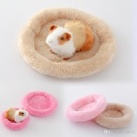 Wholesale house keeping - Hamster House Keep Warm Soft Pet Sleeping Bed Cushion Multi Color Rabbit Nest Small Animal Supplies 4 2lf2 C R