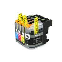 ingrosso fratelli inchiostro-YOTAT 1 set Cartuccia d'inchiostro compatibile per brother LC227 LC225 LC227XL 225XL per brother DCP-4120DW MFC-J4420DW J4620DW 4625DW