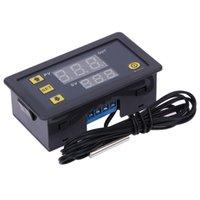 régulateur de température bleu achat en gros de-Les données du contrôleur de température numérique W3230 DC12V 20A régulateur de température enregistrent l'affichage rouge et bleu -55-120 degrés