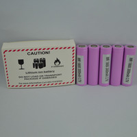 Wholesale 100 high quality Q Rechargeable Power Battery With mah a Max High Drain Li ion Batteries With Samsung