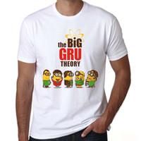Wholesale big bang theory sheldon t shirt - The Big Bang Theory T-shirt BAZINGA 2018 Sheldon Short sleeve Casual T shirt Style Print Tshirt Men Camisas
