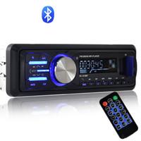 reproductor de mp3 cubo de música al por mayor-2018 venta caliente de Alta potencia Bluetooth Car Car reproductor de audio del coche del host plug en U disco de radio