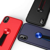 Wholesale cell phone samsung s for sale – best new design gold medal magnetic Hand belt in1 Cell Phone Cover Case For iPhone X S max XR S Plus samsung s8 s9 plus note8 OPP BAG