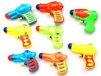 Wholesale mini toys gun - Wholesale Mini Water Gun Seaside Paddle Kids Beach Toys Children Plastic Water Pistol Cheap Baby Kids Summer Paddle Toys Free Shipping