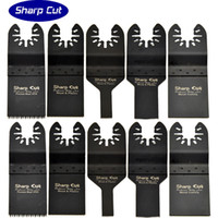 Wholesale Power Pack Tools - Hot Sales:10 pack Oscillating Multi Tool Saw Blades Accessories fit for Multimaster power tools as fein,bosch,dremel