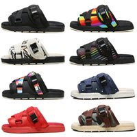Wholesale cheap silver heels - Latest Visvim FBT ELK Men Women sandal slippers flip flop top quality fashion Visvim Slippers Beach Sandals cheap sale online