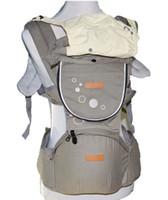 ingrosso involucri per il trasporto di fasce-Marsupio ergonomico incappucciato zaino comfort baby canguro anca sedile portante porta ingranaggi avvolgenti avvolgibili