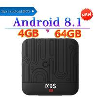 Wholesale andriod tv boxes resale online - M9S J1 TV Box Andriod RK3328 GB RAM GB ROM GB G G WiFi Set Top Box Bluetooth Mbps USB3 Smart Box