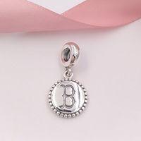 ingrosso perline boston-Autentico argento sterling 925 perline Boston Charm ciondola misura collana di bracciali gioielli stile Pandora europeo USB791169-G004