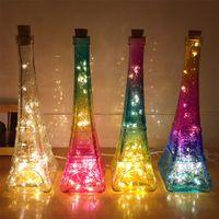 eiffelturm weihnachtslichter großhandel-Kreative USB Powered Eiffelturm Form Lichter, dekorative Weihnachten Urlaub / Geschenk (4 Farben für Ihre Wahl)